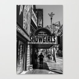 Showgirls Hollywood Blvd Canvas Print