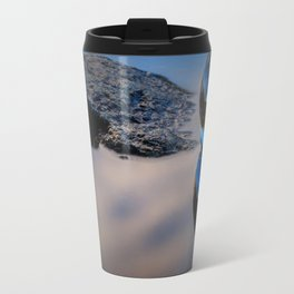 Reflections of Reflections Castle Lake in a crytsal ball photograph Travel Mug