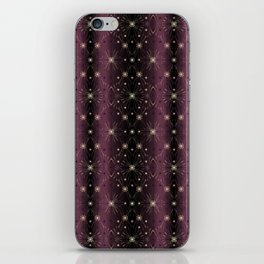 1920s pearl chic bordeaux iPhone Skin