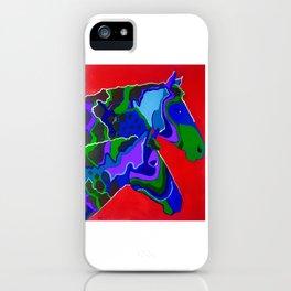 2 Horses iPhone Case