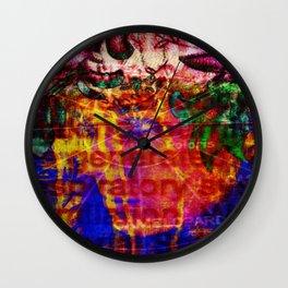 Far-sighted Wall Clock