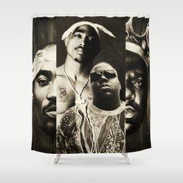 Biggie&Tupac Mix Shower Curtain