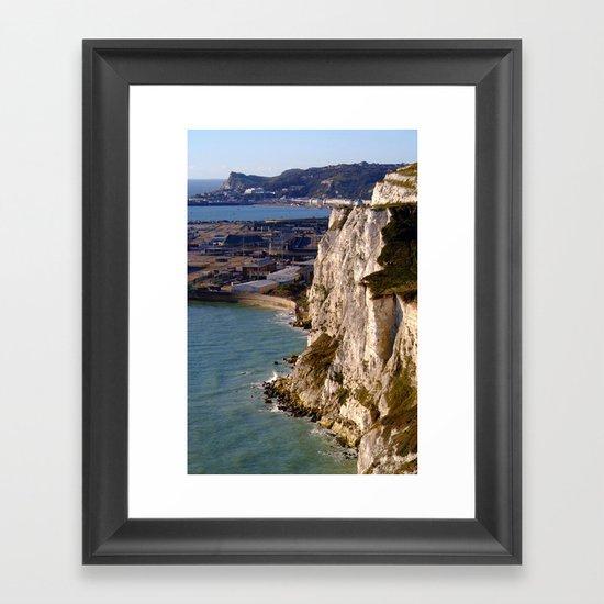 The White Cliffs and Dover  Framed Art Print
