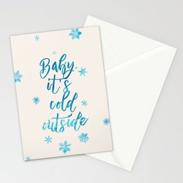 Baby, It's Cold Outside! Stationery Cards