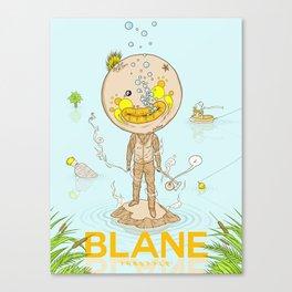Blane Throttle Canvas Print