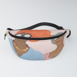 Colorfully Dressed Fanny Pack