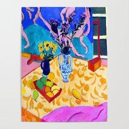 Henri Matisse Still Life with Dance Poster