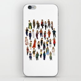 Every Clara Outfit Ever   S8 iPhone Skin