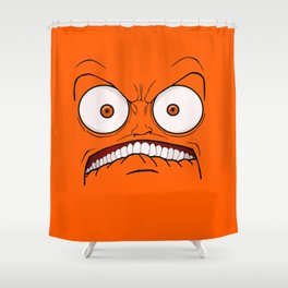 Emotional Hateful Tuesday - by Rui Guerreiro Shower Curtain