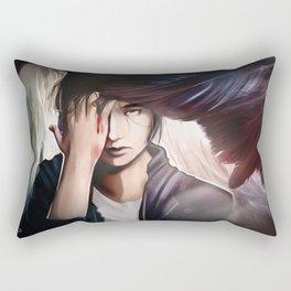 Silent Words Rectangular Pillow