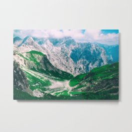 MOUNTAINS - VALLEY - PHOTOGRAPHY Metal Print