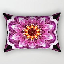 Orchid Manipulation Rectangular Pillow