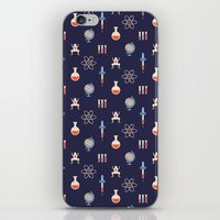 science iPhone & iPod Skins featuring Science by Wharton