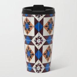 Portuguese tile pattern Travel Mug