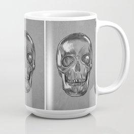 grungy skull Coffee Mug