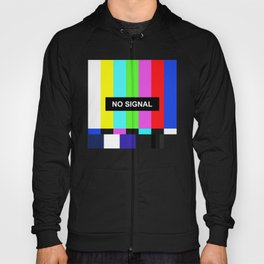 No Signal TV screen Hoody