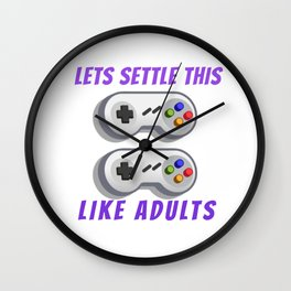gaming for gamers and console lovers  Wall Clock