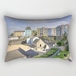 Tenby Harbour Vista Rectangular Pillow