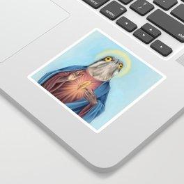 Potoo Jesus Sticker