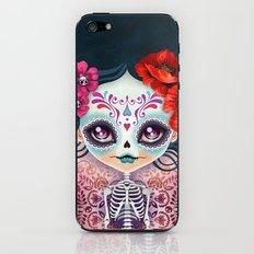 Amelia Calavera - Sugar Skull iPhone & iPod Skin