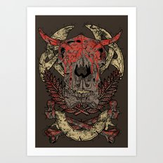 Lost Tribe Art Print