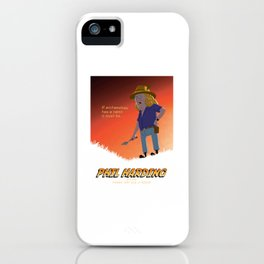 Phil Harding - Time Team iPhone Case