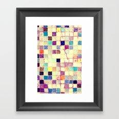Mind Mosaic - for iphone Framed Art Print
