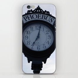Einstein's clock is exactly one minute... iPhone Skin