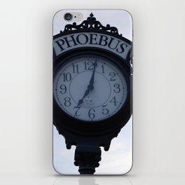 Einstein's clock is exactly one minute... iPhone Skin