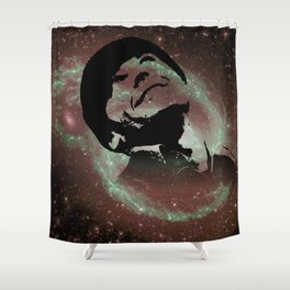 CUCKOO & COSMOS Shower Curtain