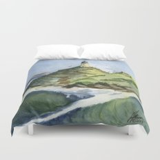 Peaceful Lighthouse V Duvet Cover