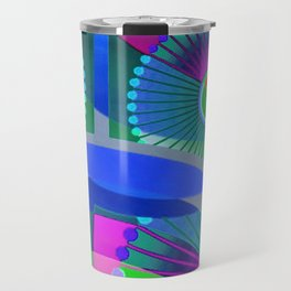 Bright Abstract Travel Mug