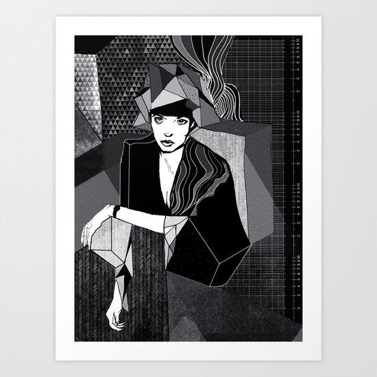 Greyscale Art Print