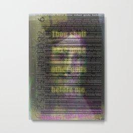 1 Metal Print