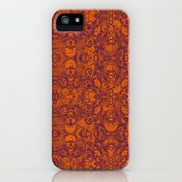 Royal Paisley  iPhone Case