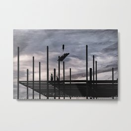 Iron Workers, Canandaigua 2015 Metal Print