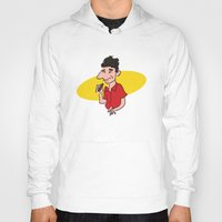 seinfeld Hoodies featuring kramer from seinfeld by Nick Dauphin