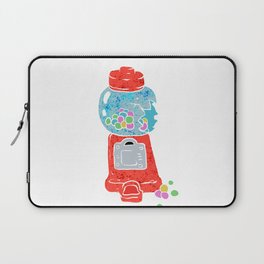 Bubble gum machine. Laptop Sleeve