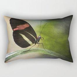 Butterfly Ink. Rectangular Pillow