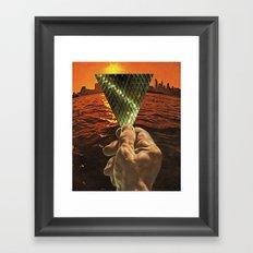 Brisa Biónica Framed Art Print