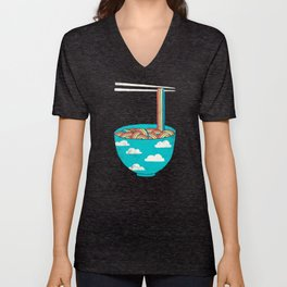 Rain-Bowl Unisex V-Neck