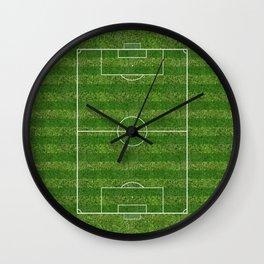 Soccer (Fooball) Field Wall Clock