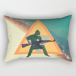 Duncan and the gun Rectangular Pillow