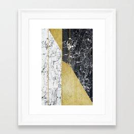 marble hOurglass Framed Art Print