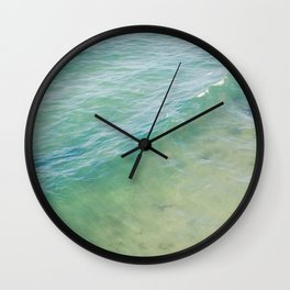 Peaceful Waves Wall Clock