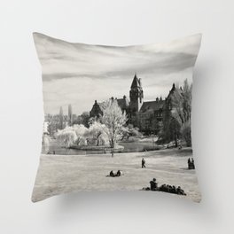 Tolpa's Park Throw Pillow