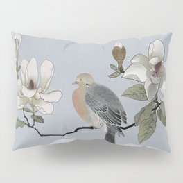 Mourning Dove And Magnolia Pillow Sham