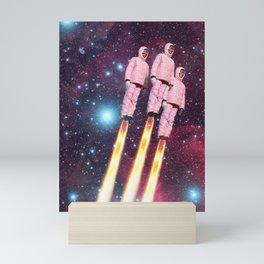 Pink Rockets Mini Art Print