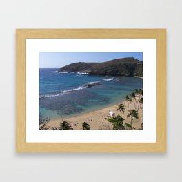 Hanauma Bay Framed Art Print