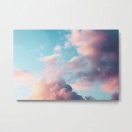 Clouds Paradise Metal Print